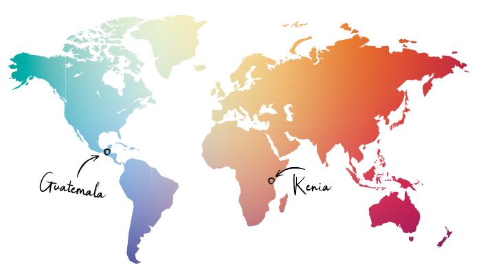 Guatemala Kenia
