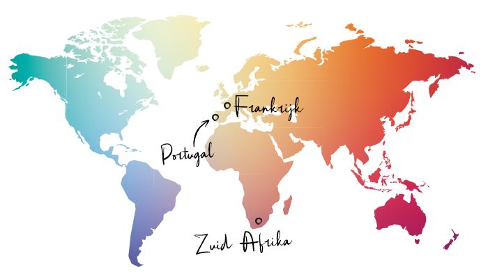 Frankrijk & Zuid Afrika & Portugal2